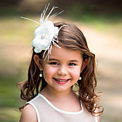 Mujer Niña de flor Pluma Celada-Boda Ocasión especial Flores