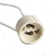Cableado para un solo conector de soporte de la lámpara GU10