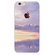 용 아이폰6케이스 / 아이폰6플러스 케이스 반투명 / 패턴 케이스 뒷면 커버 케이스 풍경 소프트 TPU 아이폰 7 플러스 / 아이폰 (7) / iPhone 6s Plus/6 Plus / iPhone 6s/6