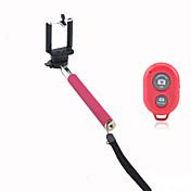Autofoto monopie extensible cámara de mano con soporte para teléfono móvil y disparador remoto bluetooth para el iphone