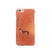 Para Congelada En Relieve Diseños Funda Cubierta Trasera Funda Perro Dura Policarbonato para AppleiPhone 7 Plus iPhone 7 iPhone 6s Plus/6
