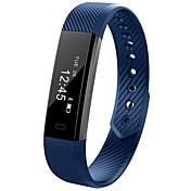 D115 Reloj Smart Seguimiento de Actividad iOS AndroidResistente al Agua Calorías Quemadas Podómetros Itinerario de Ejercicios Deportes