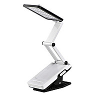 22-LED White Light LED Solar valo ladattava Fold Eyeshield lukupöytä Desk Lamp (110-220V)