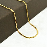 Χρυσαφί Ανοξείδωτο Ατσάλι / Τιτάνιο Ατσάλι / Επιχρυσωμένο Καθημερινά / Causal / Αθλητικά Κοσμήματα