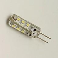 1.5W G4 LED-maïslampen 24 SMD 3014 80 lm Warm wit / Koel wit Decoratief DC 12 V