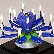 műanyag fonás zenei születésnapi virág gyertya