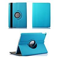 360⁰ Kotelot/Smart Katteet/Origami Kotelot - Omena iPad Air 2 - Yhtenäinen väri - Tekstiili - Punainen/Musta/Sininen/Ruskea/Purppura/Oranssi/Ruusu