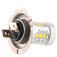 50W H7 Dekorationslampe 14LED Højeffekts-LED 1200 lm Naturlig hvid Jævnstrøm 12 Jævnstrøm 24 V 1 stk.
