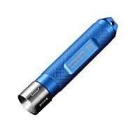 T0 LED Lommelygter Nøkkelringslommelykter LED 12 Lumens Modus LED Batterier ikke inkluderede Nedslags Resistent Glidesikkert Greb