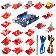elektroniske blokker kit sensor suite med uno r3 utvikling bord (ny)