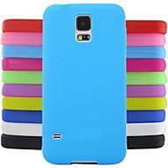 egyszínű zselés szilikon tok tervezési minta Samsung Galaxy S4 mini i9190