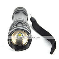 5 LED-Zaklampen LED 1800 Lumens 5 Modus Cree XM-L T6 Ja Verstelbare focus Schokbestendig Oplaadbaar Waterbestendig Zoombare Slagring
