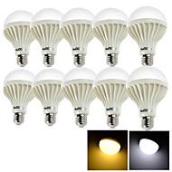 9W E26/E27 LED Λάμπες Σφαίρα B 15 SMD 5630 700 lm Θερμό Λευκό / Ψυχρό Λευκό Διακοσμητικό AC 220-240 V 10 τμχ