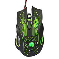 επαγγελματικές υψηλής ποιότητας ενσύρματο ποντίκι gaming 7 Κουμπί οπτική οδήγησε usb ενσύρματο ποντίκι του υπολογιστή ποντίκια