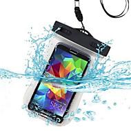 Samsung matkapuhelin - Samsung Samsung Galaxy S6/Samsung Galaxy S6 edge - Kännykkäkuori/Vedenpitävät pussit - Yhtenäinen väri (