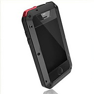 iphone 7 συν toophone® Joyland μεταλλικό αδιάβροχο& απόδειξη το μηδέν πίσω περίπτωση για το iphone 5 / 5S
