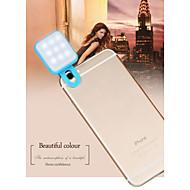 rk10 modieuze draagbare telefoon flash diy voor iphone 8 7 Samsung Galaxy S8 S7
