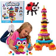 nieuwe bunchems goed pakket nieuwe gebouw speelgoed 370 stuks diy kinderen spelen 36 accessoires kit kinderen beste cadeau