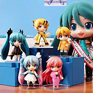 Hatsune Miku anime akciófigura 6.5cm modell játékok baba játék