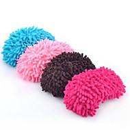 2 stk chenille skoovertræk rengøring hjemmesko doven træk moppe øko gave mor