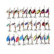 30 τμχ Μεταλλικά Δολώματα Ψαρέματος 3-5γρ με Αγκίστρια σε Τυχαία Χρώματα
