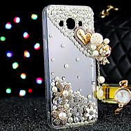 Voor Samsung Galaxy hoesje Hoesje cover Strass Achterkantje hoesje Glitterglans TPU voor Samsung J7 J5