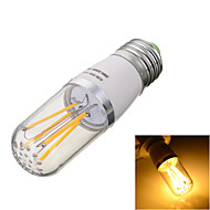 1 stuks Marsing E26/E27 4W 4 COB 300-400lm lm Warm wit / Koel wit T edison Vintage LED-gloeilampen AC 85-265 V