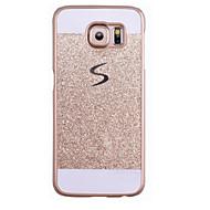 Για Samsung Galaxy S7 Edge Με σχέδια tok Πίσω Κάλυμμα tok Λάμψη γκλίτερ PC SamsungS7 edge / S7 / S6 edge plus / S6 edge / S6 / S5 / S4 /