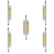 4W R7S LED-kolbepærer T 60 SMD 2835 350-400 lm Varm hvid Kold hvid Vandtæt Dekorativ Vekselstrøm 220-240 V 5 stk.