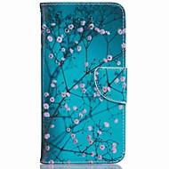 Fullbody lommebok / Card Holder / med stativ Blomsternål i krystall Kunstlær Hard Tilfelle dekke for Apple iPhone 7 / iPhone 7 Plus