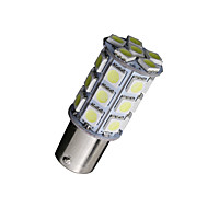 10 x brancas 1156 BA15S LED 27-SMD cauda lâmpadas rv campista 1141 1003