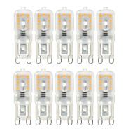 Ywxlight® 10 stuks dimbaar 4w g9 led lichten 14 smd 2835 300-400lm warm / natuurlijk / koel wit AC 220 / 110v