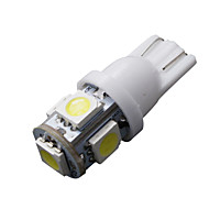 20 pcs arrefecer t10 branco cunha 5-SMD 5050 192 168 194 W5W 2825 158 lâmpadas led