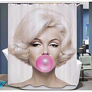 Modern Poly / Cotton Blend 1.8*1.8m  -  Jó minőség Zuhanyfüggönyök