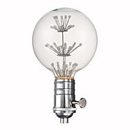 youoklight E27 G80 3w farve lampe kuvert dekorative pære og fatning kombination sælge 220v