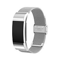 Czarny / Rose / Złoty / Srebrny Stal nierdzewna Metalowa bransoletka Na Fitbit Zegarek 10mm