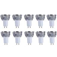 5w gu10 led 스포트라이트 4 개 조림 500 lm 따뜻한 백색 / 시원한 백색 조광 가능 ac 220-240 / ac 110-130 v 10 개