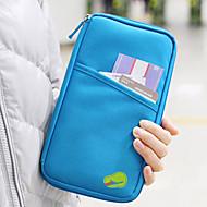 1 parça Seyahat Cüzdanı Pasaport Tutucu ve Kimlik Tutucu Su Geçirmez Toz Geçirmez Taşınabilir Çok-fonksiyonlu için Seyahat Depolama Kumaş-