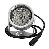 48 οδήγησε φωτισμού φως CCTV IR υπέρυθρη νυχτερινή όραση για κάμερα παρακολούθησης