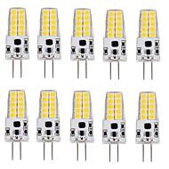 3W G4 LED 콘 조명 T 20 SMD 2835 280-300 lm 따뜻한 화이트 차가운 화이트 V 10개