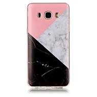 Mert IMD Minta Case Hátlap Case Márvány Puha TPU mert Samsung J7 (2016) J7 J5 (2016) J5 J3 (2016) J3 Grand Prime