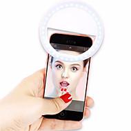 Selfielampa Grafisk ABS Plast
