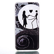 Til samsung galaxy j7 j3 dansemønster relief luminous tpu materiale telefon case galaxy j7 j5 j3 j1 (2016) g530 g360 i9060