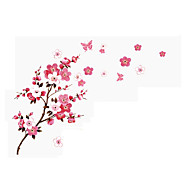 Romantik Blomster Landskap Veggklistremerker Fly vægklistermærker 3D Mur Klistremerker Dekorative Mur Klistermærker Bryllups klistermærker