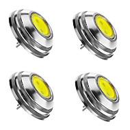 4 x g4 gu4 gz4 mr11 2w 120-150lm cob led 180lm hvid / kold / varm hvid lampe spotlight spot pærer cool hvid dc12v