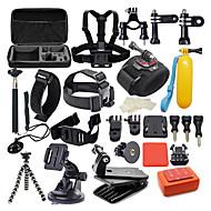 Akcesorium Kit 42 w 1 Wodoodporne DlaXiaomi Camera Gopro 5 Gopro 4 Gopro 4 Silver Gopro 4 Session Gopro 4 Black Gopro 3 Gopro 2 Gopro 3+