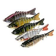 5 db Jerkbaits Minnow g/Uncia,10cm mm hüvelykTengeri halászat Sodort Pisztrángsügér horgászat Csali horgászat Általános horgászat