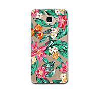 Til Samsung Galaxy A7 (2017) j32017case Cover Mønster Bag Cover Case Blomst Landskab Soft TPU til Samsung Galaxy S5 S7 S7 Egde S6 Kant J7