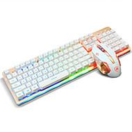 Ajazz usb tipkovnica miša miša 6keys dpi podesiva s 160cm kabelom