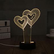 데코레이션 라이트 LED 밤 빛-0.5W-USB 장식 - 장식